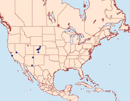 Distribution Data for Glyphipterix montisella